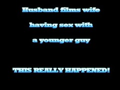 hawt blond wife has sex with younger chap while