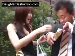 daddy craves to fuck japanese daughter