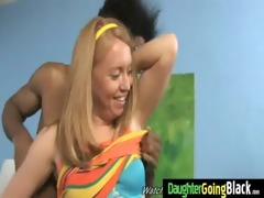 youthful daughter receives pounded by large