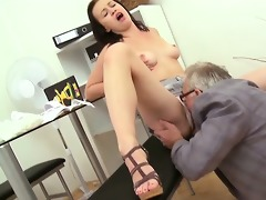 trio sex with teacher