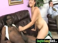 large black cock monster bonks my daughters young