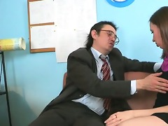sex lesson with sexually excited teacher
