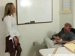 pretty lexie seducing her teacher to sex