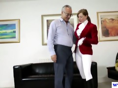 youthful euro doxy pussydrilled by old guy