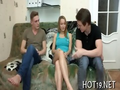 stranger copulates hot teenie