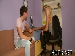 pal looks at cutie drilled