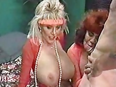 mother and aunt share sons big cock