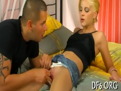 virgin bitch licked& fucked