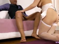 dilettante stockings creampie