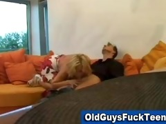 old guy blowjob by hot younger sweetheart