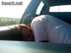 after work having car sex