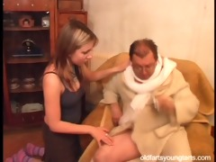 natalli fucking an ugly old man - coffee for the