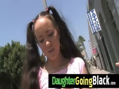 just watching my daughter going black 2