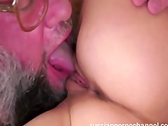 sexy russian babe fucked by hard rod