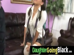 sexy daughter jock suck and interracial fuck 6