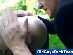 old chap blowjob by hawt younger playgirl