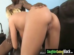 watching my daughter nailed by black monster wang