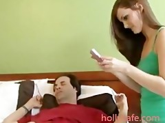 cute brunette teen love older dude