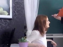 tricky old teacher fucked brown-haired legal age