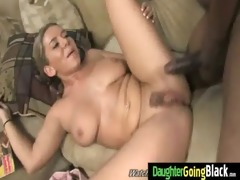 dark cock and a tiny honey 2