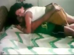 bro pressing sister booty and kissing