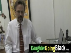 giant black rod bonks my daughter legal age